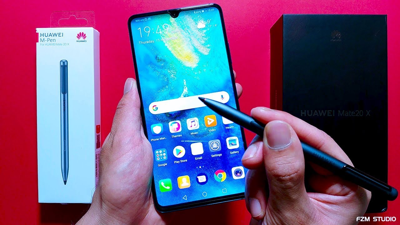 Huawei Mate 20 X M Pen Unboxing Review 4k