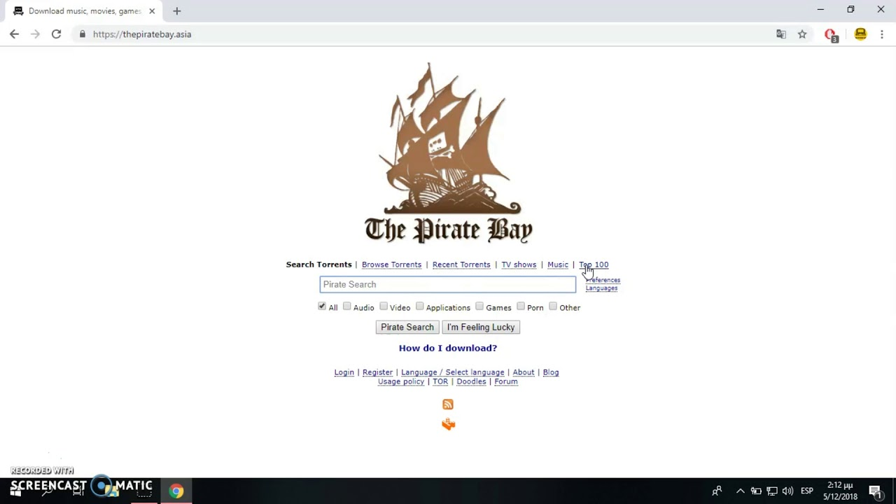 the ́piratebay proxy