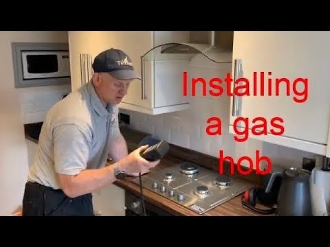 How To Install A Gas Hob (tutorial For Trainee Gas Engineers)