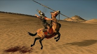 3000 Cataphract Horse Archers vs 1000 Praetorian Guards Rome 2 Total War