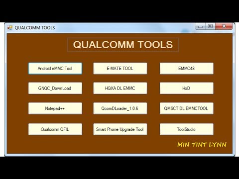 flashing qualcomm android devices using tool studio emmc download tool