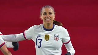USWNT vs France Alex Morgan Goal April 13 2021