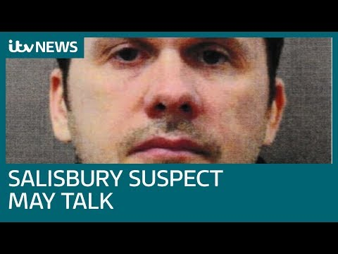 Salisbury suspect Alexander Petrov 'may give interview' | ITV News