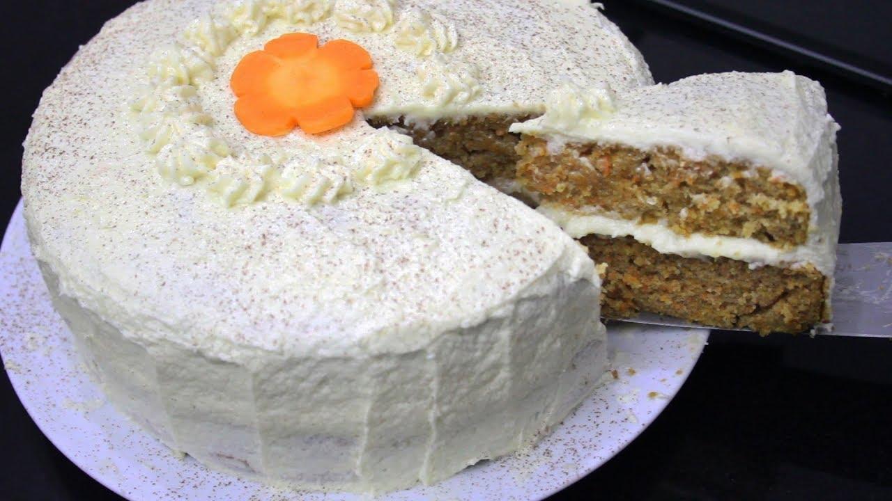 Resep Carrot Cake Atau Bolu Wortel Youtube
