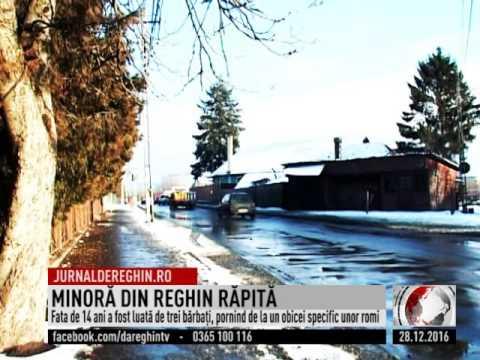MINORĂ DIN REGHIN RĂPITĂ  (2016 12 28)