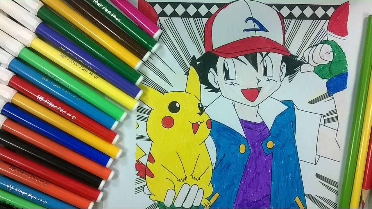 Enfants de couleur 13 coloriage pikachu la cha ne pour - Coloriage pikachu en ligne ...