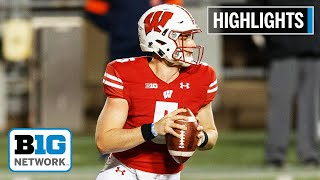 Wisconsin qb graham mertz plays a perfect first half against the illini: 14/14 for 190 yards and four touchdowns.#illinoisifightingillini#wisconsinbadgers#nc...