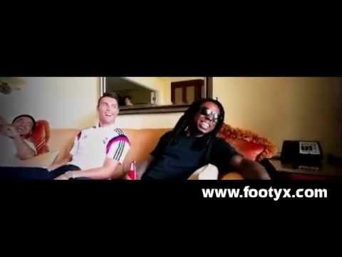 Cristiano Ronaldo Funny Slap/Prank on Santi (Lil Wayne's Crew)