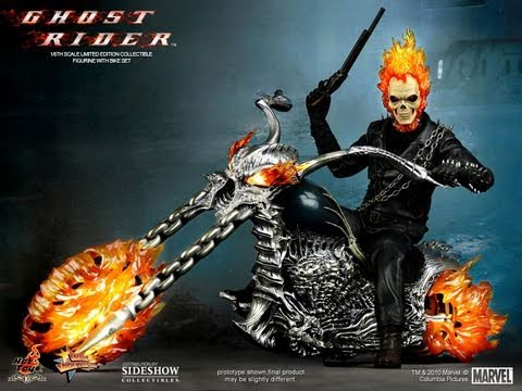 """Ghost Rider Marvel Legends  Action Figure Hot Collection 9/"""" New With Box Toy"""