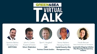 2021 GREEN4SEA Talk - Linking ESG performance to the shipping industry