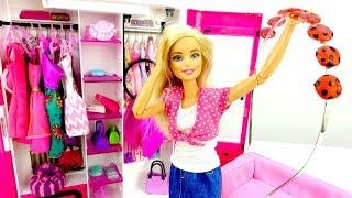 Барби и ободок в стиле Леди Баг. Как самой сделать украшение