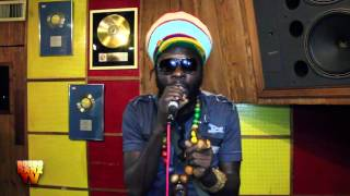 Jah Bouks at Tuff Gong live for Robbo Ranx