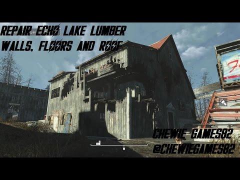 Repair Walls, Floors and Roof at Echo Lake Lumber