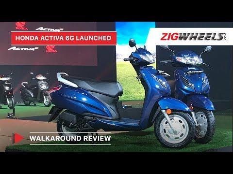 Honda Activa 6G Walkaround Review | BS6 Launch, Price, Features & More | ZigWheels