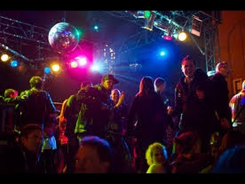 дискотека в Ивановке зимой - The Party In Ivanovka