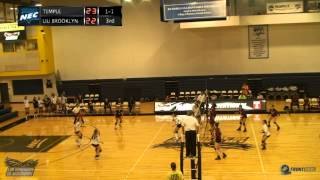 Highlights - Women's Volleyball Vs. Temple University