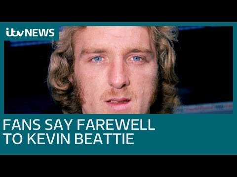 Ipswich Town fans say goodbye to legend Kevin Beattie  | ITV News