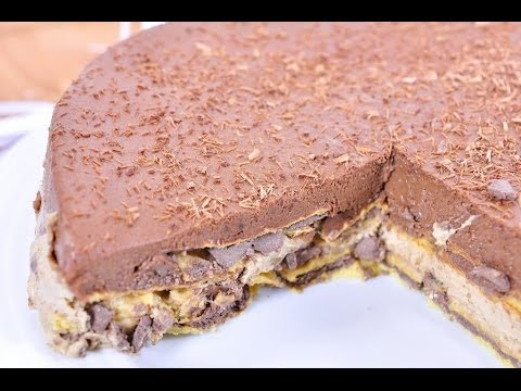 ... เกาลัด Chocolate Chestnut Mousse Cake - YouTube