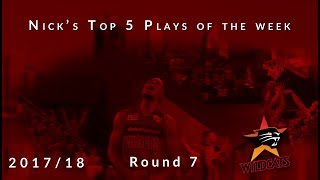 Nick's top 5 Perth Wildcats plays of the week - Round 7