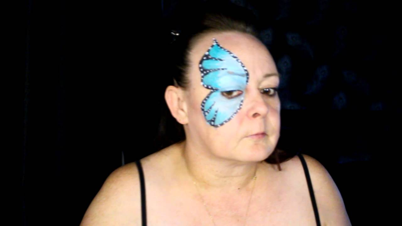 Easy Butterfly - Face Painting - Makeup Tutorial - YouTube