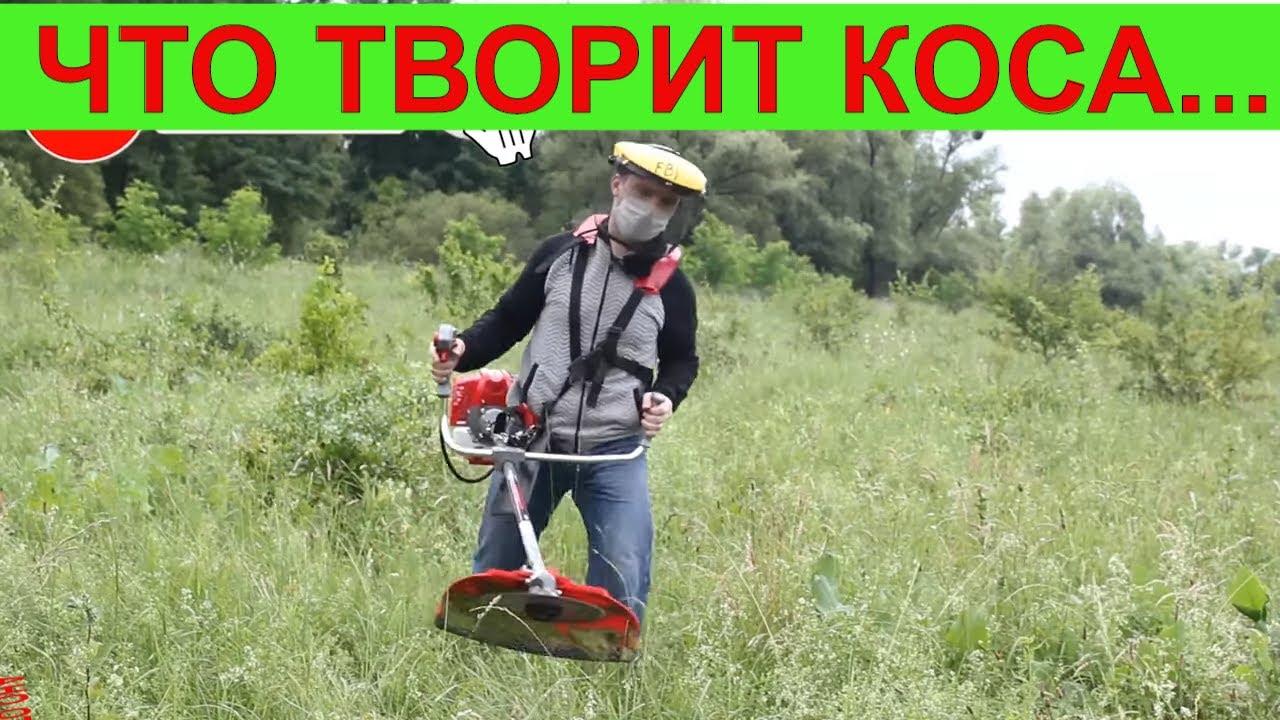 Эта Бензокоса заменит Stihl ?! Мотокоса Vitals Bk 4123s Покос травы триммером