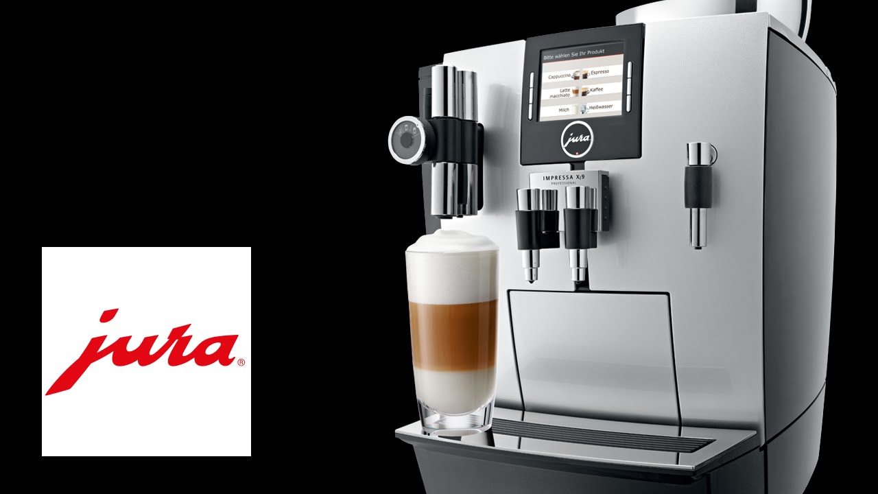 jura impressa xj9 kaffeevollautomat fully automatic coffee machine youtube. Black Bedroom Furniture Sets. Home Design Ideas