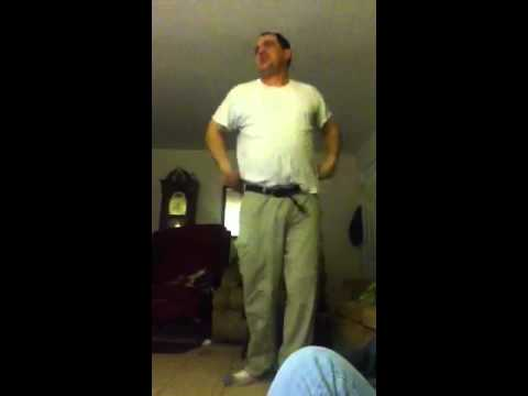 My dad dancing to Britney spears