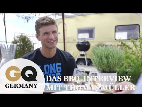 Das Barbeque-Interview mit Thomas Müller I GQ Germany x Weber Gril