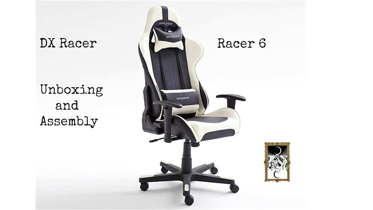 Dx Racer 6 Series Unboxing Assembly Youtube