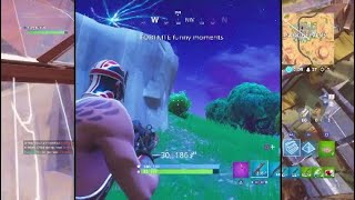 YALL WOULDN'T LAST 3 MINUTES WITHOUT LAUGHING WATCHING MY FORTNITE VIDEO!!!! | Fortnite montage|