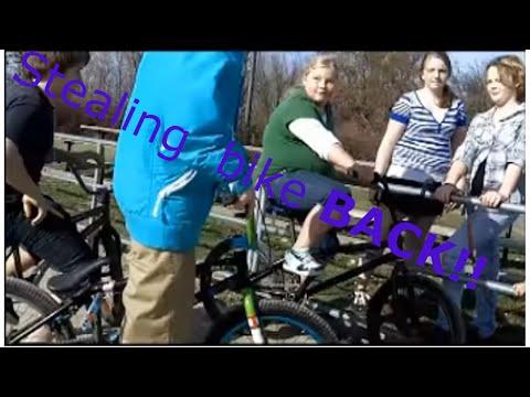 Stealing Bike Back Compilation!