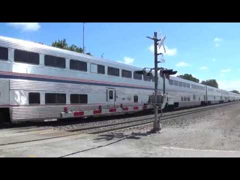 Thumbnail: Wave from Left-Hand-Running Amtrak Plus Radio Chatter