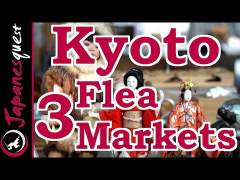3 Best Flea Markets We Must Go in Kyoto! | Japan Travel Guide