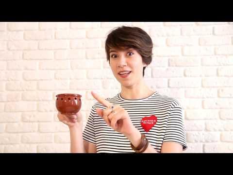 """Кружка ручной работы """"Напейся, не облейся!"""" - декоративная керамическая чашка с дырочками"""