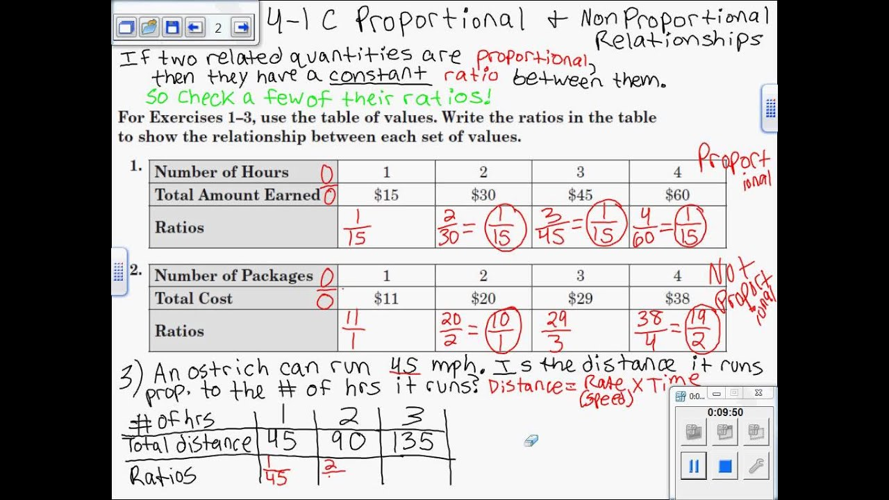Solving Problems With Percent Pre Algebra Ratios And