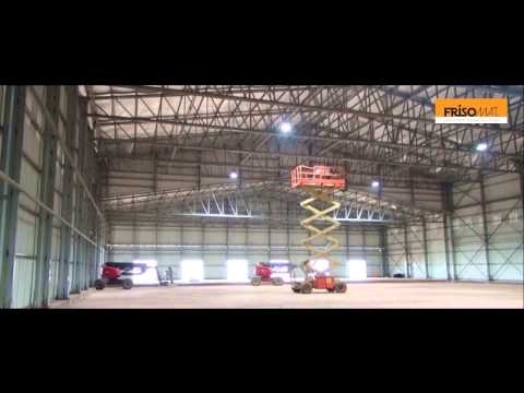 Building a Cold Storage Hall in Congo Brazzaville | Frisomat -  Steel Storage Buildings
