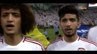 29 03 2016 uae vs saudi arabia national anthems