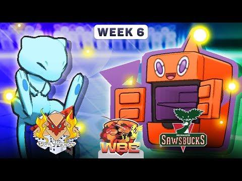 Pokemon Sun & Moon WiFi Battle • Bristol City Blazikens vs Milwaukee Sawsbucks • WBE W6S1