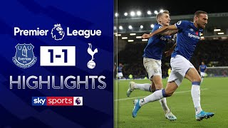 Tosun equalises after Gomes horror injury | Everton 1-1 Tottenham | Premier League Highlights