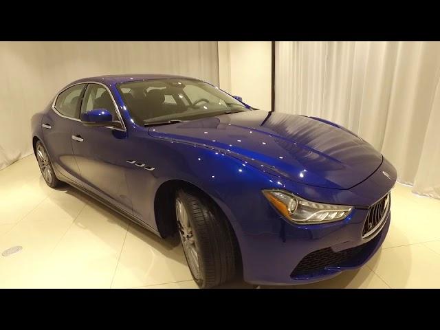 2017 Maserati Ghibli Live Roswell Ga P1296 Youtube