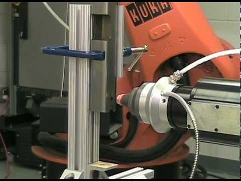 AccuShaper™ Trepanning Head - Cutting Demo