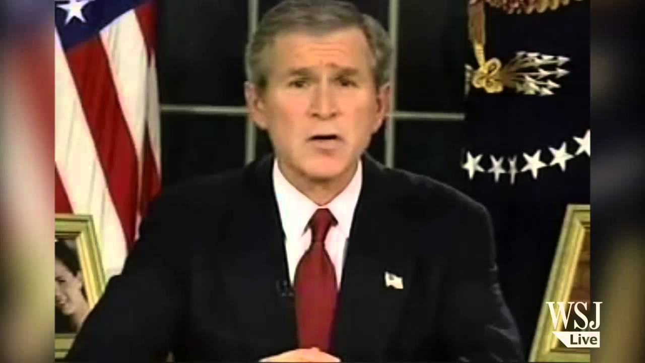 bushs speech before the war on iraq President donald trump took a dig at george w bush during a speech to republican donors on saturday, calling the former president's decision to invade iraq in 2003 the single worst decision.