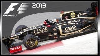 F1 2013 PC G25 Gameplay HD