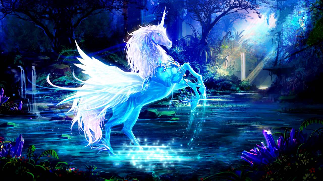 unicorn LIVE WALLPAPER - YouTube