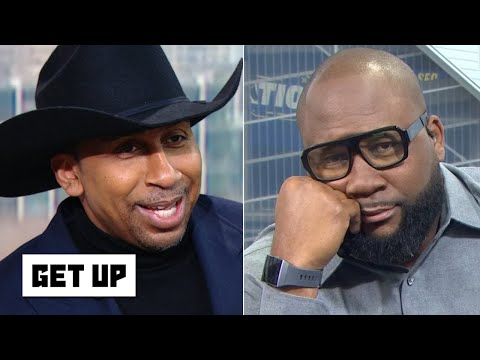 I cant even argue with Stephen A. anymore, the Cowboys cant win! - Marcus Spears | Get Up