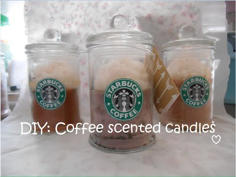 DIY candles scented with coffee and vanilla beans - so easy they make the perfect homemade gift! Read our step by step tutorial for making your own scented candles.