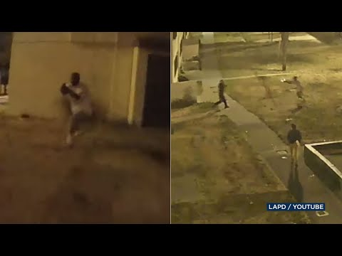BODYCAM VIDEO: Gunman