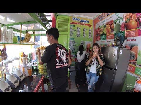Indonesia Sumedang Street Food 2373 Part.1 Fresh Drink Icha Juice JL. Ahmad Yani YDXJ0329