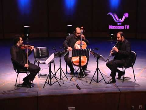 Zaid Jabri (Trio Bayat) Performed by The Damascus Festival Chamber Players