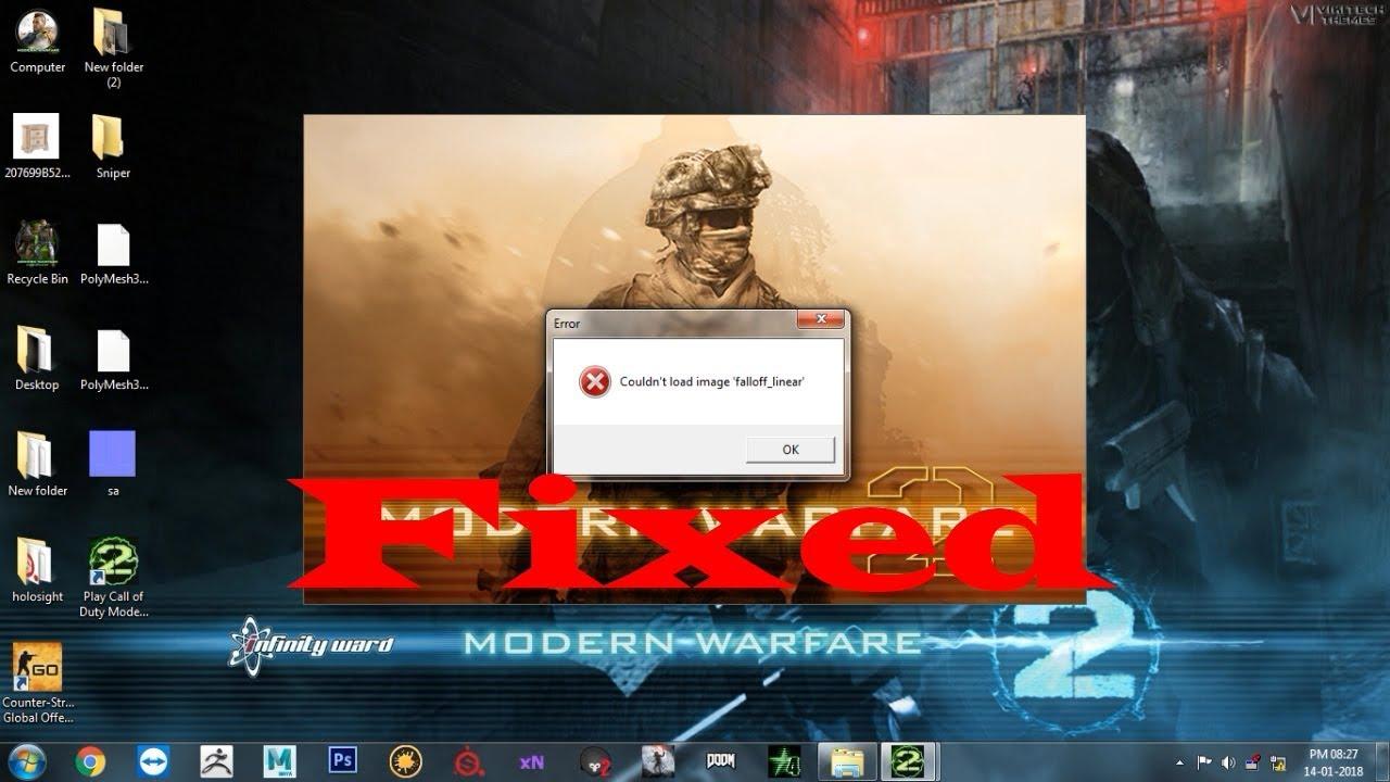 Fix Couldnt Load Image Fallofflinear Call Of Duty Modern Warfare 2 No Steam